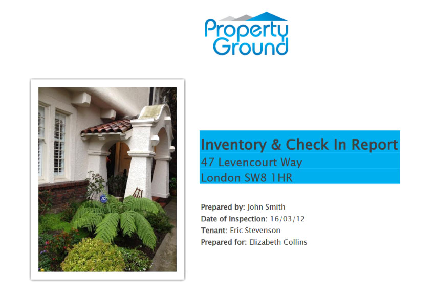 Property Ground Inventory
